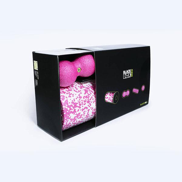 Массажный набор BLACKROLL® BLACKBOX MED