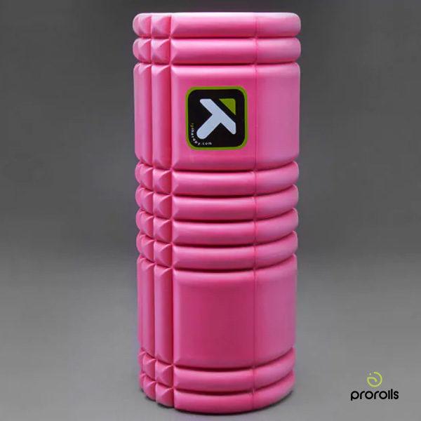 Массажный цилиндр GRID Розовый