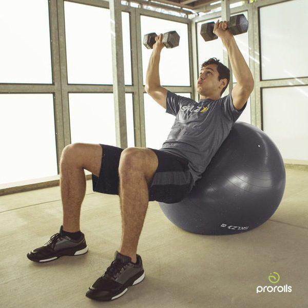 Мяч для развития баланса усиленный SKLZ PRO STABILITY BALL